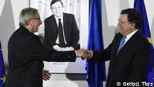 EU - Amtsübergabe Jose Manuel Barroso und Jean-Claude Juncker