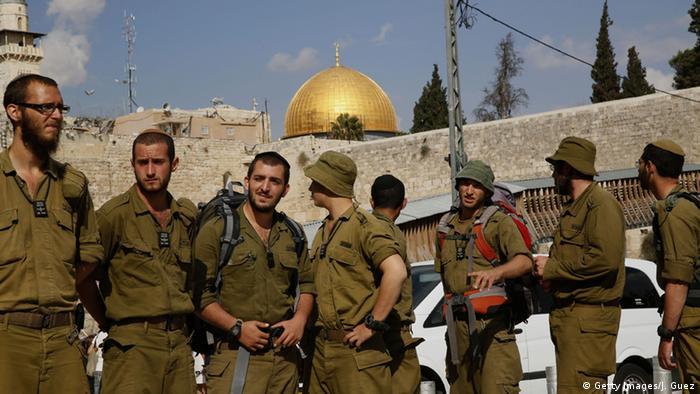 Israel - Sperrung des Tempelbergs