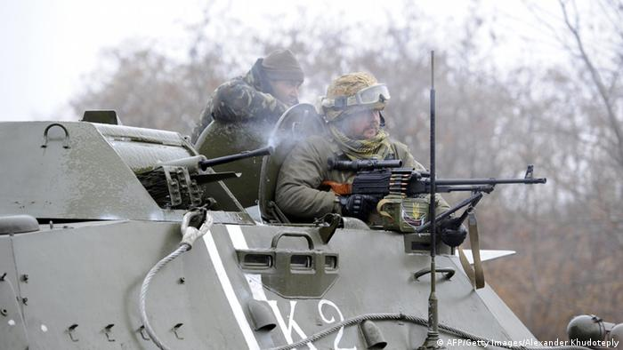 Ostukraine Krise Kämpfe bei Donezk 2014/10/24