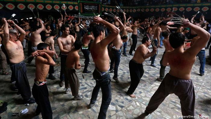 Afghanistan Muharram Prozession in Kabul 31.10.2014 (Reuters/Omar Sobhani)