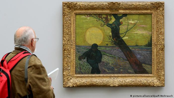 На выставке Моне, Гогена и Ван Гога в музее Folkwang в Эссене