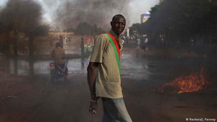 Burkina Faso Demonstranten 31.10.2014