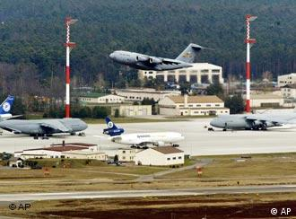 The US air base at Ramstein in Germany is the largest of its kind in Europe