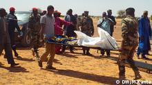 Toter Soldat in Mangaizé