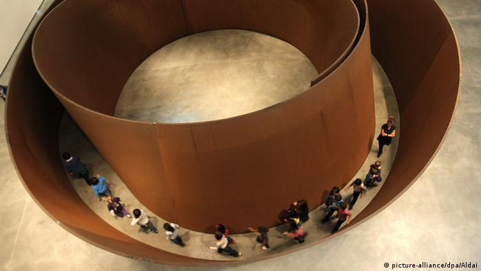 Richard Serra's A Matter of Time (picture alliance/dpa)
