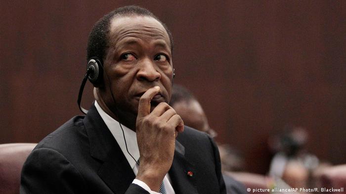 Burkina Faso Ex-Präsident Compaore Archiv 2011