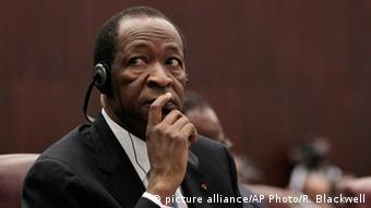 Burkina Faso Ex-Präsident Compaore Archiv 2011 (picture alliance/AP Photo/R. Blackwell)