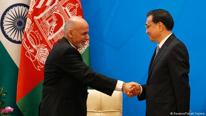 What does China want to achieve in Afghanistan?