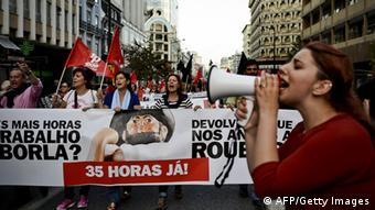 Portugal Demonstration 31.10.2014