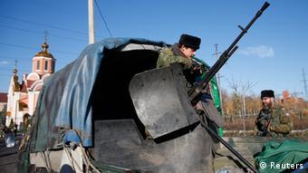 Pro-russische Separatisten in Donezk