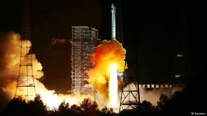 China's test flight to the moon