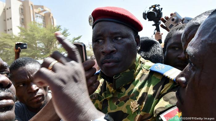 Oberst Isaac Zida (Foto: AFP)