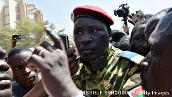 Oberst Isaac Zida (Foto: ISSOUF SANOGO/AFP/Getty Images)