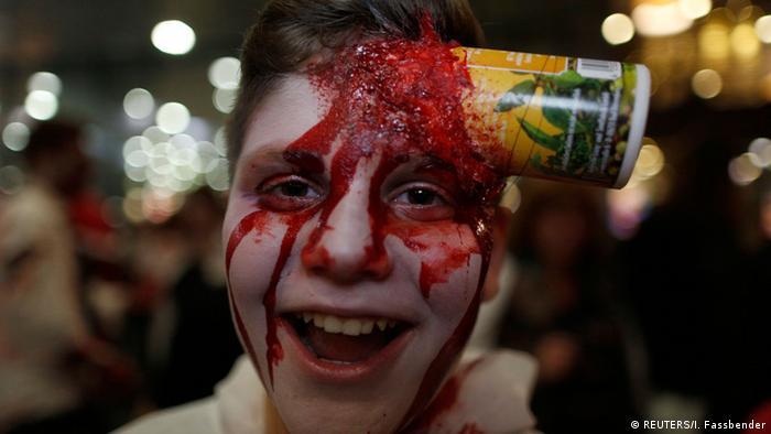 BdT Deutschland Halloween Essen (REUTERS/I. Fassbender)