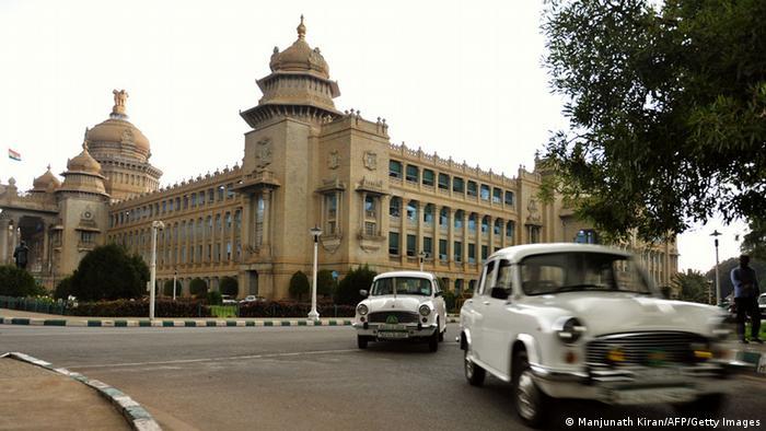 Indien 'Vidhana Soudha' in Bangalore