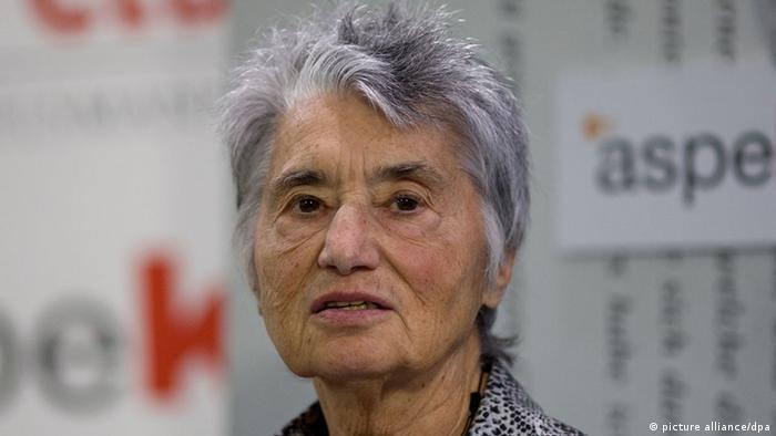 Porträt von Ruth Klüger.