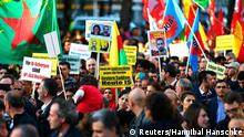 Pro-kurdische Demonstration in Berlin 01.11.2014