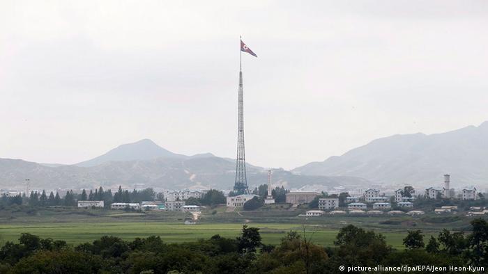 Grenzstadt Kijong-dong in Nordkorea - Foto: Jeon Heon-Kyun (EPA)