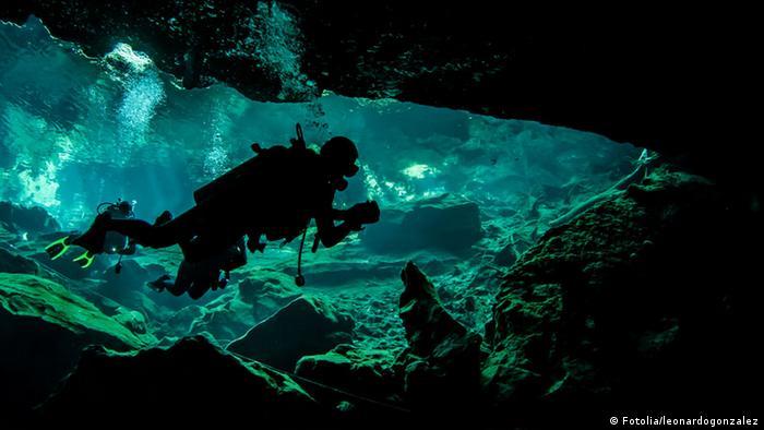 Bildergalerie Extreme Sportarten Cave Diving