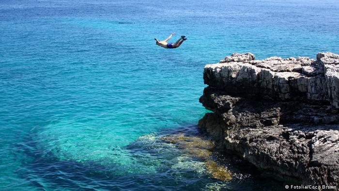 Bildergalerie Extreme Sportarten Cliff Diving