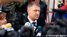 Wahlen Rumänien 2.11.2014 Klaus Iohannis