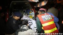 Selbstmordattentat in Lahore 02.11.2014