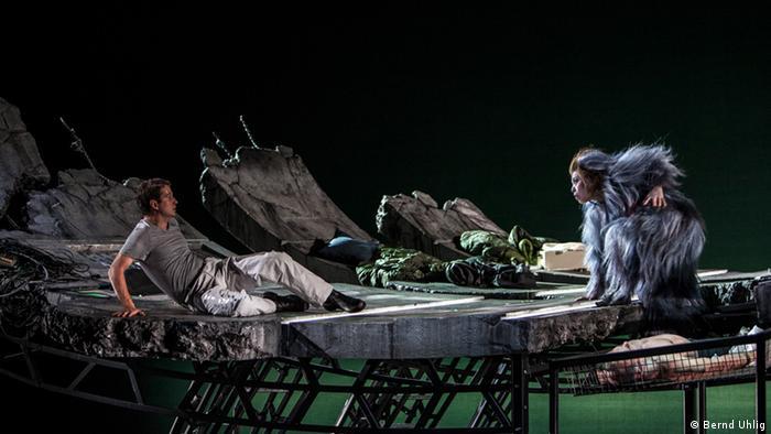 Сцена из оперы Солярис