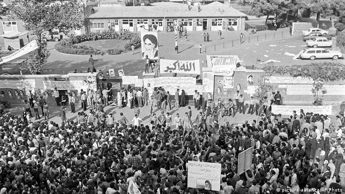 Iran Besetzung der US-Botschaft 1979 (picture-alliance/AP Photo)
