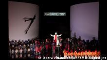 Szene aus der Oper Khovansjtsjina Flandrisches Opernhaus Antwerpen