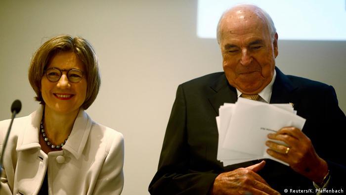 Helmut Kohl Buchvorstellung Aus Sorge um Europa 03.11.2014 Frankfurt