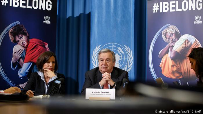 UNHCR startet Kampagne gegen Staatenlosigkeit (picture-alliance/dpa/S. Di Nolfi)