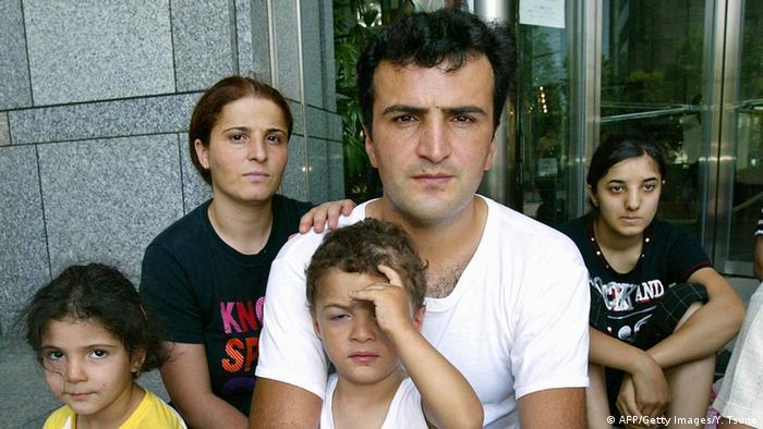 Kurdische Flüchtlinge in Tokio Archiv 2004