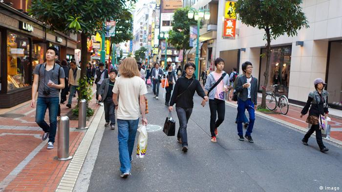 Japan Einkaufstraße Archiv 2010