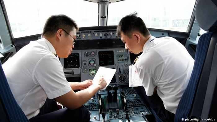 Symbolbild China Pilot