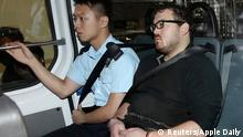 Rurik Jutting pictured at a November 3 court appearance