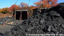Kohlemine in der Ukraine Torez