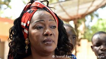 Burkina Faso Oppositionspolitikerin Saran Sereme