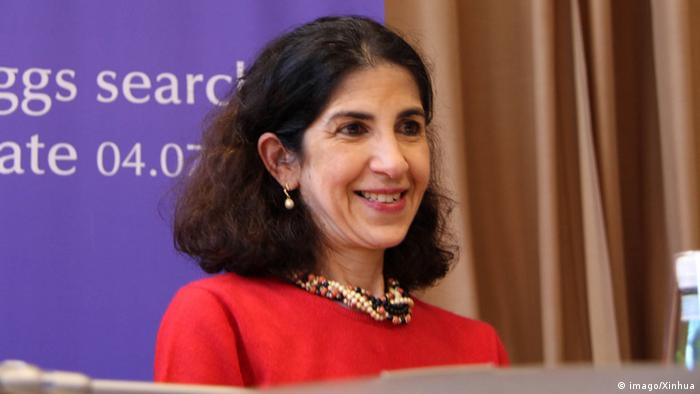 CERN director general Professor Fabiola Gianotti