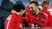 Champions League Zenit St. Petersburg Bayer Leverkusen 4.11.2014