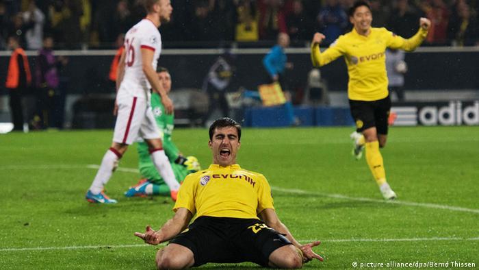 Футбол германии боруссия дортмунд новости