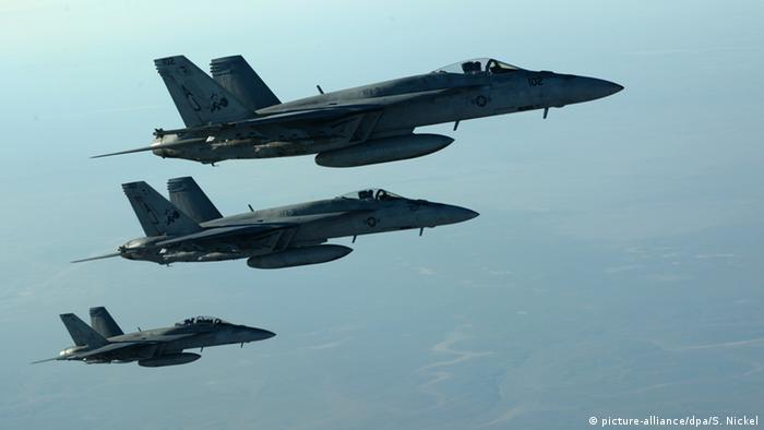Самолеты ВВС США над Сирией (фото из архива)
