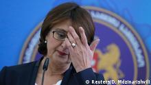 Georgien Rücktritt Außenministerin Panjikidze 05.11.2014