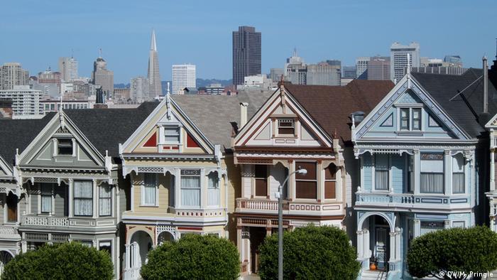Къщи в Сан Франциско