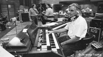 Richard Wright at a recording session