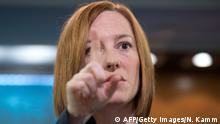 Jen Psaki Sprecherin US State Department März 2014