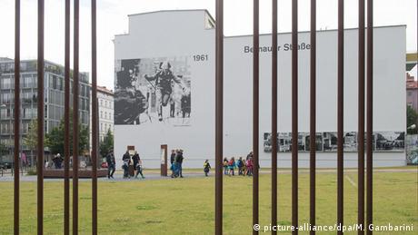 Memorial do Muro na rua Bernauer Strasse