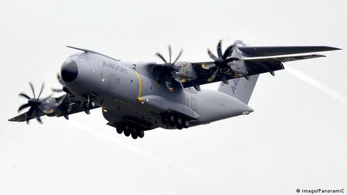Der A400M in der Luft (Bild: imago)