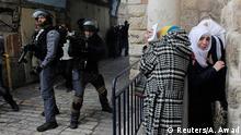 Ausschreitungen in Jerusalem 05.11.2014