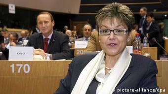 H επικεφαλής της επιτροπής ελέγχου προϋπολογισμού Ίνγκεμποργκ Γκρέσλε