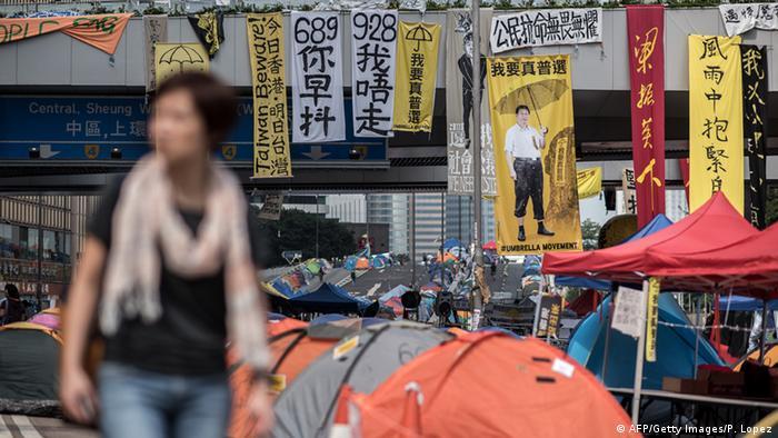 Hongkong Proteste 06.11.2014